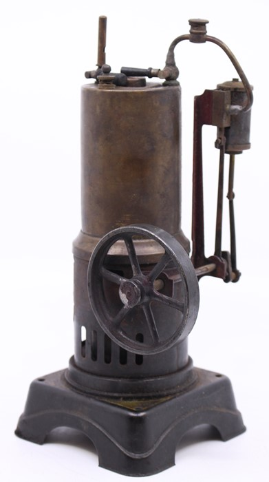 Bing: A vertical stationary live steam engine, Gebruder Bing, Nurnberg, diamond mark, single - Image 2 of 2