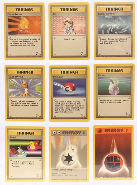 Pokemon: A completePokemon Base Card Set 2, comprising 130 cards, plus an additional Wartortle ( - Image 14 of 17