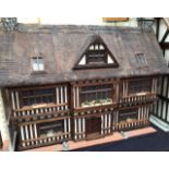Dolls House: A high quality Dolls House built by the renowned Robert Stubbs. This model is the Manor