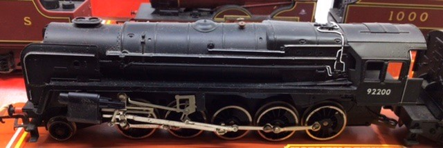 Hornby: A collection of four Hornby locomotives to include: R.2066 BR Fowler; R.355 MR Compound; R. - Image 4 of 5