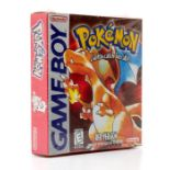 Nintendo: A boxed Nintendo Gameboy, Pokemon Red version, sealed, 1998, rare in unopened condition,