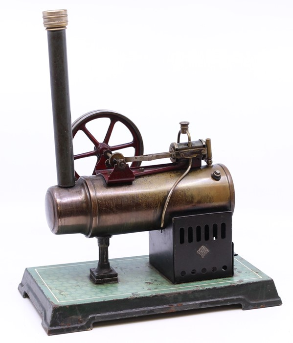 Bing: An early 20th century, horizontal live steam, Gebruder Bing, stationary engine, single fixed - Image 2 of 3