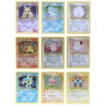 Pokemon: A completePokemon Base Card Set 2, comprising 130 cards, plus an additional Wartortle (