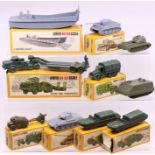 Airfix: A collection of eight boxed Airfix HO-OO Scale plastic vehicles to comprise: German Tiger