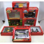 Britains: A collection of assorted Britains to include: John Deere 3050 Tractor , JCB Fastrac