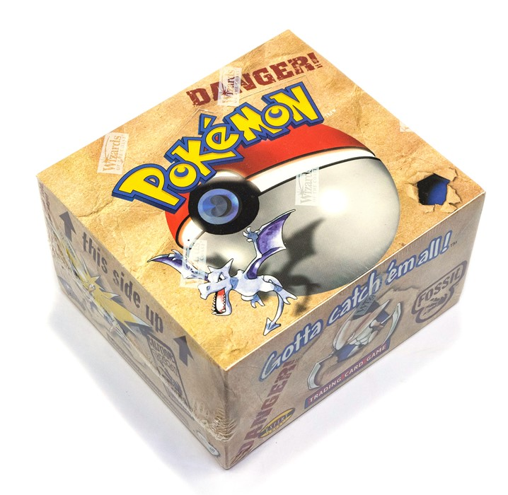 Pokemon: A sealed Pokemon Fossil Set Unlimited Booster Box, comprising 36 unopened packs, - Image 2 of 4