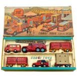 Corgi: A boxed Corgi Major Toys, Gift Set No. 23, Chipperfields Circus Models, comprising: Booking