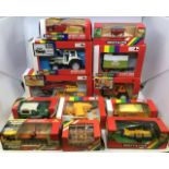 Britains: A collection of assorted Britains to include: Fiat tractor 9529, Lamborghini 1706