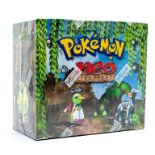Pokemon: A sealed Pokemon Neo Discovery Set Unlimited Booster Box, comprising 36 unopened packs,