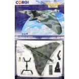 Corgi: A boxed Corgi, Limited Edition, The Aviation Archive, Avro Vulcan B2 XH558, 'Vulcan to the