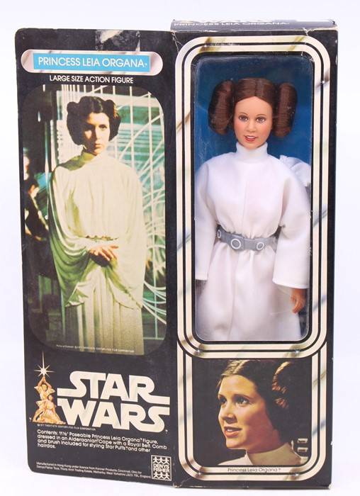 """Star Wars: A boxed Star Wars, Large Size Action Figure, Princess Leia Organa, 11.5"""" poseable figure, - Image 2 of 2"""