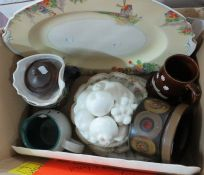 A mixed group of twentieth century ceramics to include Grindleys, Denby etc.