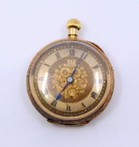 A ladies gold Omega pocketwatch