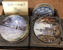 A quantity of Limoges, Mason's and other collector's plates
