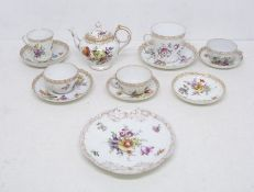 A collection of china and earthenware to include: Imari Ironstone plate stamped R Morley & Co;