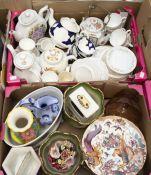 Ceramics - Limoges; Royal Crown Derby Old Aves; Mayfair teaware; Royal Sutherland teaware;