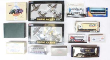 Corgi: A collection of assorted modern boxed Corgi diecast to include: Original Omnibus, Fighting
