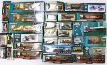 Corgi: A collection of assorted boxed Corgi Eddie Stobart vehicles, mostly appear to have never been