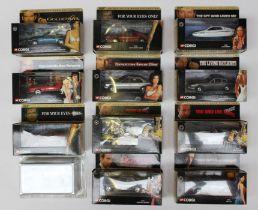 Corgi: A collection of eleven boxed Corgi James Bond 007 vehicles to comprise: 65002, 04701,