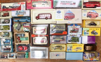 Diecast: A collection of assorted boxed modern diecast vehicles to include EFE, Vanguards, Corgi and