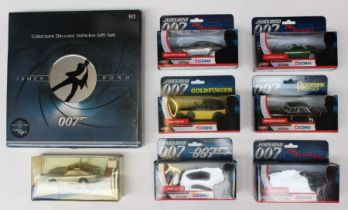 Corgi: A collection of assorted James Bond 007 Corgi boxed vehicles to comprise: TY07501, TY07601,