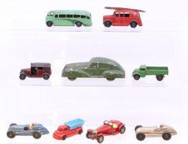 Diecast: A small collection of diecast to include: six Dinky examples, one Matchbox Models of