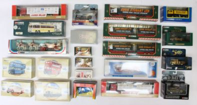 Corgi: A collection of assorted modern boxed diecast to include: Eddie Stobart, Corgi Classics,