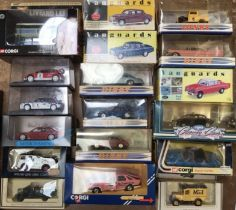 Die cast vehicles collection to include Corgi, Dinky, Lledo, cars, buses, motorcycles etc. Boxed