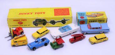 A boxed Corgi Chevrolet Dinky Box onlu, Lesney cars and similar