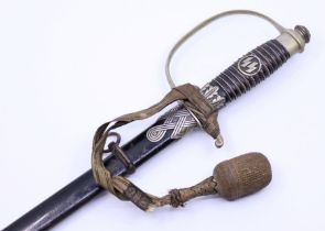 A scarce WW2 Period German SS Sword Provenance collected by the Current vendors father during