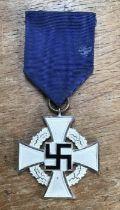 German DAF Standard 25-year civil long service award.