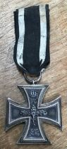 German 1813-1914 WW1 Iron cross.