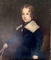 English School, circa 1840, portrait of a young bo