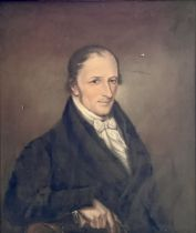 English School, circa 1830, portrait of a gentlema