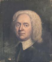 English School, mid 18th century, portrait of gent