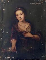 Manner of Elisabeth Vigee-Lebrun (French, 1755-184