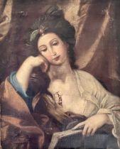 """Follow of Domenichino (Italian, 1581-1641), """"A Syb"""