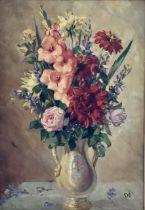 "Continental School, ""Bouquet le fleur, dams en vas"