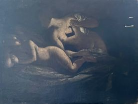 North Italian School, 17th century, two female nud