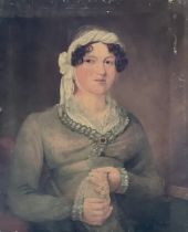 English School, circa 1830, portrait of a young la