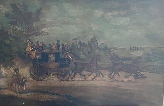 Follower of James Pollard (British, 1792-1867), Ki