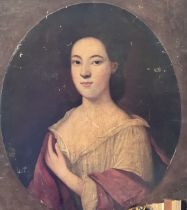 Circle of Enoch Seeman (1694-1744), portrait of a