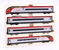 Hornby: A boxed Hornby OO Gauge, Virgin Trains Pendolino Train Pack, R2467, contents complete.Outer
