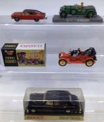 Dinky: A boxed Dinky Toys, Rolls-Royce Phantom V Limousine, 152; together with a boxed Corgi