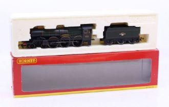 Hornby: A boxed Hornby OO Gauge, BR 4-6-0 Castle Class Locomotive '5073 Blenheim Castle', R2280.