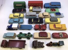 Diecast: A collection of assorted diecast vehicles to include Corgi, Dinky and others, all in