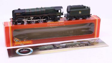 Hornby: A boxed Hornby OO Gauge, 'Morning Star' BR Class 7MT, R033.Outer box showing signs of wear,