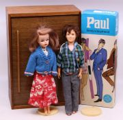 Pedigree: A boxed Pedigree, Paul: Sindy's Boyfriend, 6R1542, together with an unboxed Sindy, and a