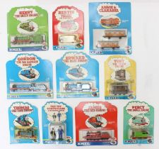 ERTL: A collection of assorted Thomas the Tank Engine & Friends carded items to include: Henry,