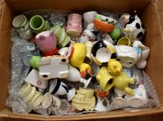 Large collection of 20th Century egg cups
